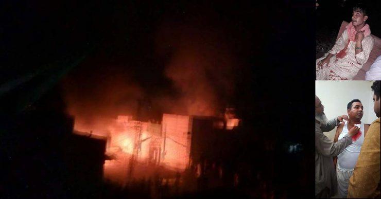 فیصل آباد:گھسیٹ پورہ میں شدت پسندوں کی جان&#15
